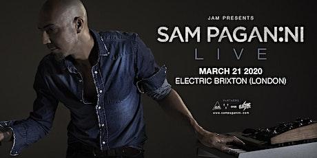 Sam Paganini Live - Electric Brixton W/ Zøe & Paolo Tamoni tickets