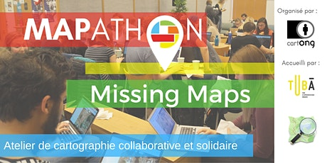 Mapathon Missing Maps à Lyon @LeTubā tickets
