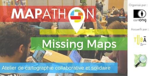 Mapathon Missing Maps à Lyon @LeTubā
