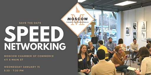 Speed Networking with Moscow Young Professionals!