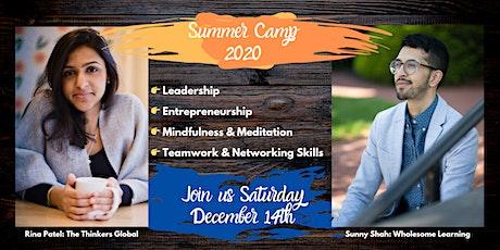 Leadership/Entrepeneurship/Mindfulness 2020 Camp tickets