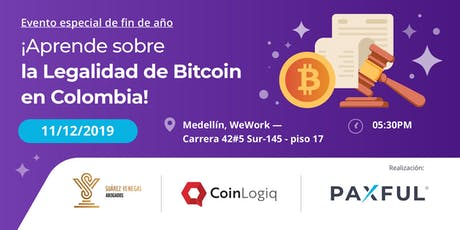 La Legalidad de Bitcoin en Colombia tickets