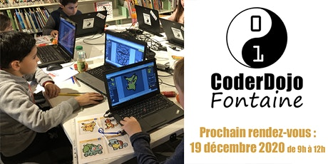 CoderDojo Fontaine - 19/12/2020 tickets