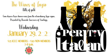Aperitivo Italiano: The Wines of Lazio tickets