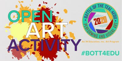 Feb 8, 2020 Battle of the Teal 4EDU art activity - Akron Main Library