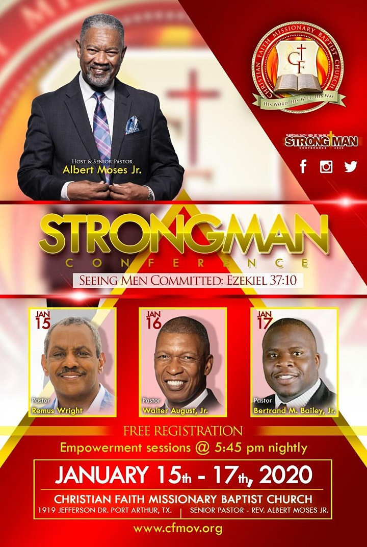 Strong Man Conference 2020 (Seeing Men Committed) image