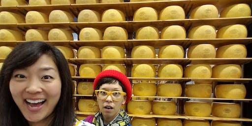 Parmigiano Reggiano Cracking Party w/Milkfarm at Boomtown Brewery