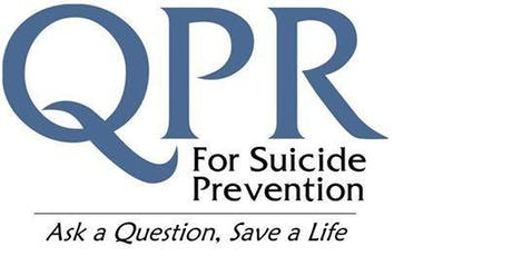 QUESTION,PERSUADE, REFER  for Suicide Prevention tickets