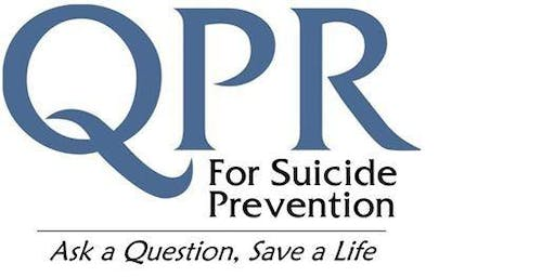 QUESTION,PERSUADE, REFER  for Suicide Prevention