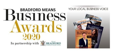 Bradford Means Business - 2020 Awards Launch and Networking tickets