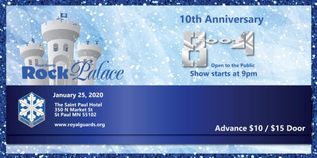 Rock The Palace 10th Anniversary Featuring 8 foot 4 tickets