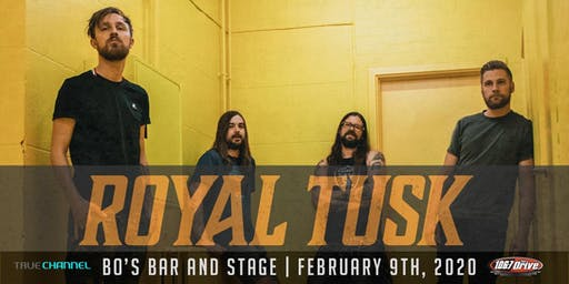 ROYAL TUSK w/ BRKN LOVE + SIGHTS & SOUNDS