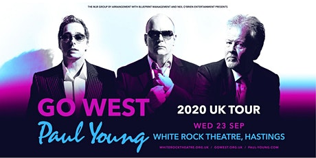 Go West & Paul Young (White Rock Theatre, Hastings) tickets