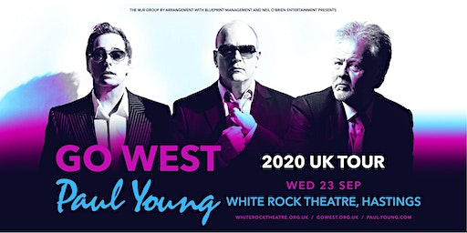 Go West & Paul Young (White Rock Theatre, Hastings)