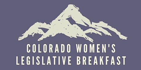 31st Annual Colorado Women's Legislative Breakfast tickets