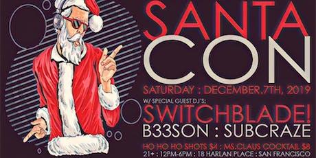 Santacon 2019 @ Bar Fluxus tickets