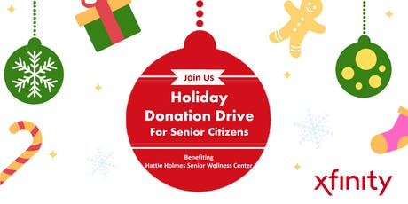 Holiday  Donation Drive For Senior Citizens tickets