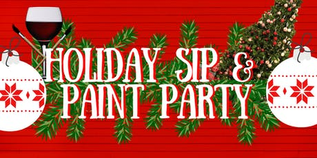 Holiday Sip & Paint Party tickets