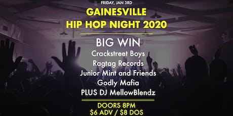 Gainesville Hip Hop Night 2020 tickets