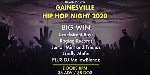 Gainesville Hip Hop Night 2020