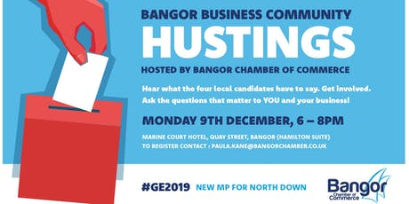 Business Community HUSTINGS Event tickets