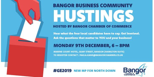 Business Community HUSTINGS Event