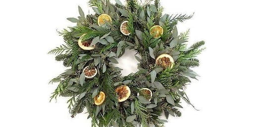 Holiday Floral Centerpiece, Wreath & Candle Class
