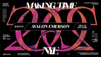 Making Time New Year's Eve 2020 with Avalon Emerson tickets
