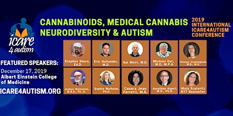 Breakthroughs in Medical Cannabis for Autism - ICare4Autism 2019 International Conference tickets