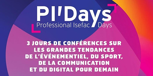 Save the Date: Professional ISEFAC Days de Lille