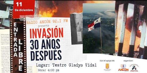 Foro Radio Ancón: Invasión,  30 Años Después