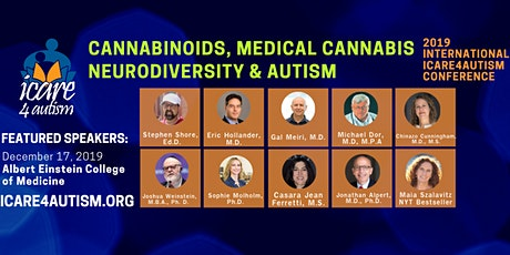ICare4Autism International Conference: Cannabinoids, Medical Cannabis, Neurodiversity and Autism *COMMUNITY SPECIAL PRICE* tickets