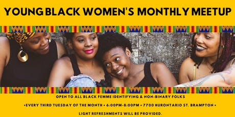 Young Black Women's Monthly Meetup tickets