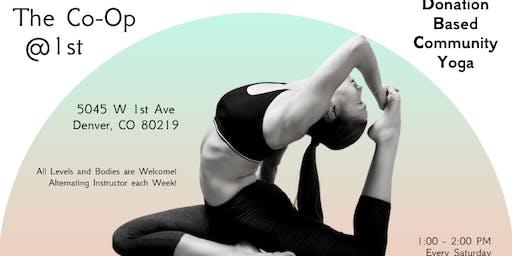 Donation Based Community Yoga