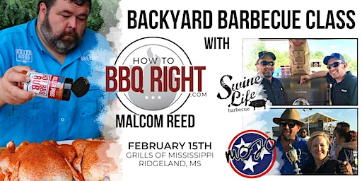 HowToBBQRight's Backyard Barbecue Class