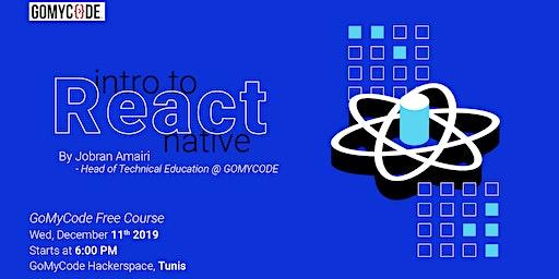 Intro to React Native