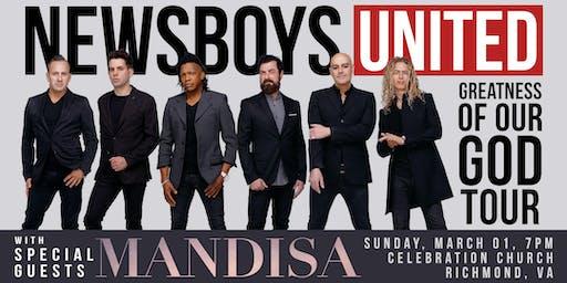 The Newsboys UNITED - with Mandisa | Richmond, VA