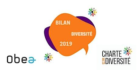 Restitution du Bilan Diversité 2019 billets