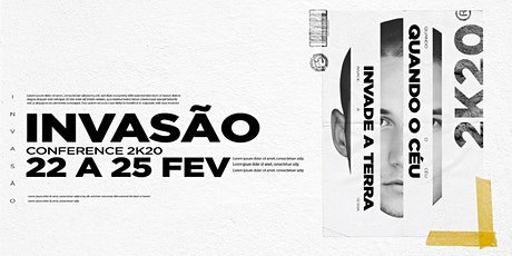Invasão Conference 2020 tickets