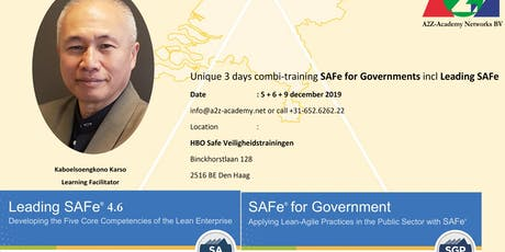 SAFe for Government + Leading SAFe 20200116 tickets