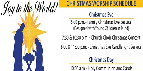 JOY TO THE WORLD - CHRISTMAS EVE CANDLELIGHT  SERVICE tickets