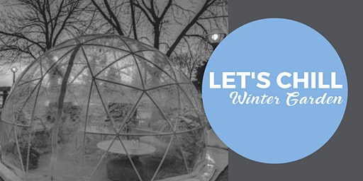 Winter Garden Igloos: Wine, Whiskey or Beer