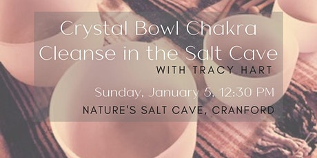 Crystal Bowl Chakra Cleanse in the Salt Cave with Tracy Hart tickets