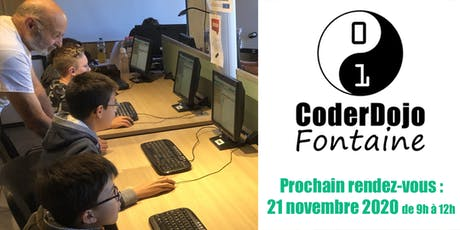 CoderDojo Fontaine - 21/11/2020 billets