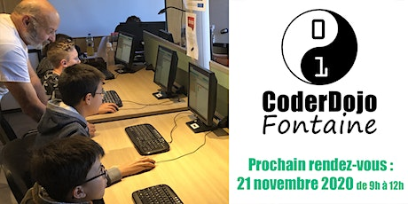 CoderDojo Fontaine - 21/11/2020 tickets