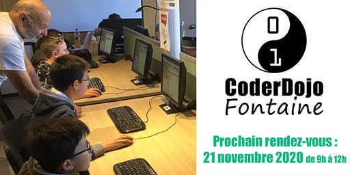 CoderDojo Fontaine - 21/11/2020