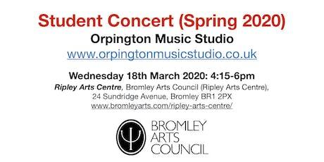 Student Concert (Spring 2020) - Orpington Music Studio tickets