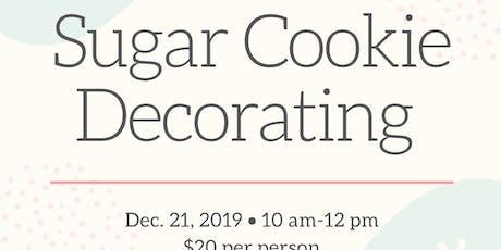 Sugar Cookie Decorating tickets