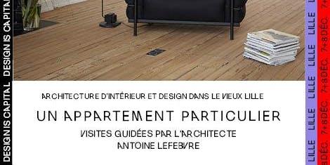 Visite guidée d'un appartement particulier dans le Vieux-Lille