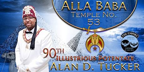 Alla Baba Temple No. 53 2020 Annual Potentate Charity Ball tickets